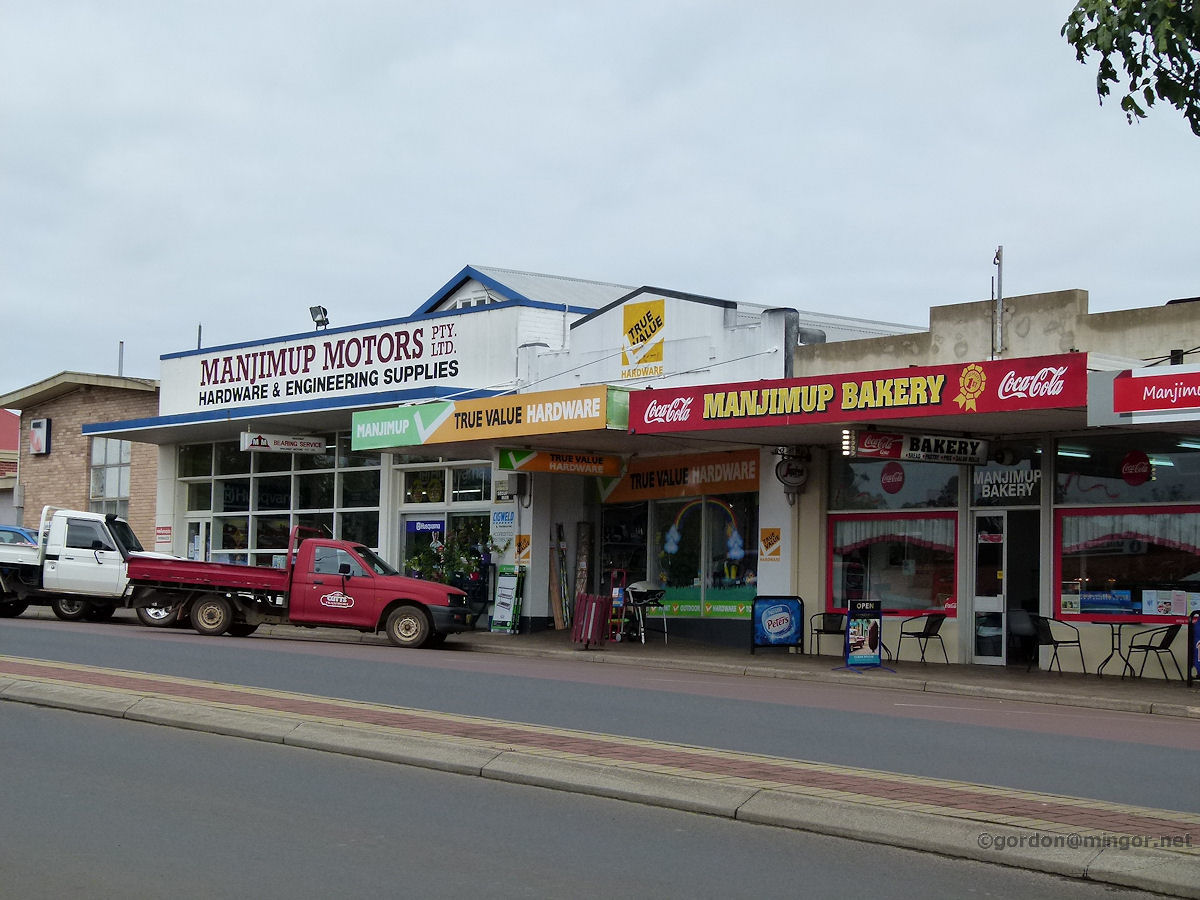 Manjimup Australia  city photos : Manjimup Motors, True Value Hardware and the Manjimup Bakery line the ...